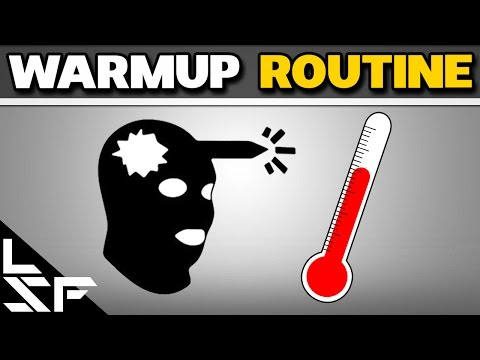 how to warm up hands for cs go