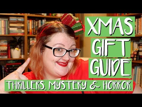 CHRISTMAS GIFT GUIDE | THRILLERS, MYSTERY & HORROR! | PT. I