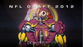 REDSKINS NFL Draft 2012 RG3 Promo
