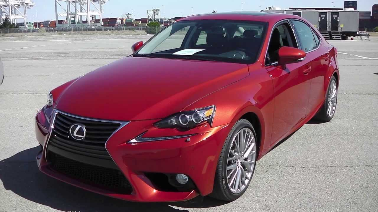 Real First Impressions Video 2014 Lexus Is Family Is250
