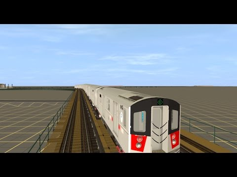 Trainz 12: R142A (6) Train (Brooklyn Bridge - Pelham Bay Park) {Pelham Exp}