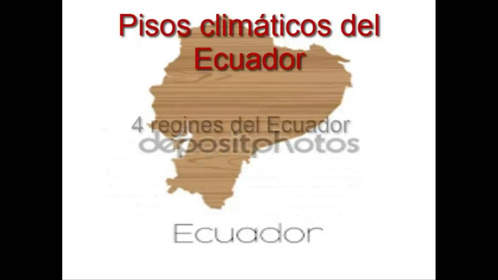 pisos climaticos youtube