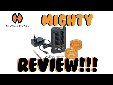 Mighty Vaporizer Review (Finally!) 😂 Storz and Bickel. VapeLife X