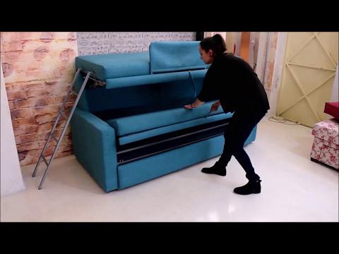 Καναπές κουκέτα, κουκέτα κρεβάτι