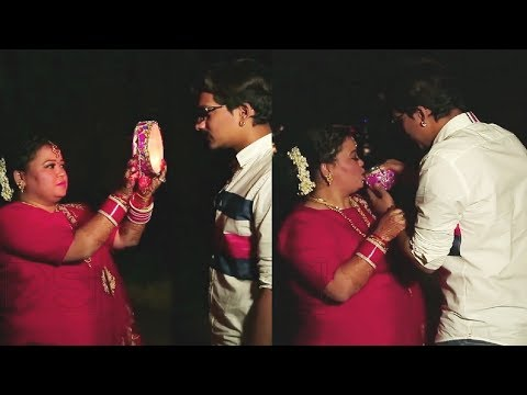 Bharti Singh Karwa Chauth For Husband Harsh Limbachiyaa