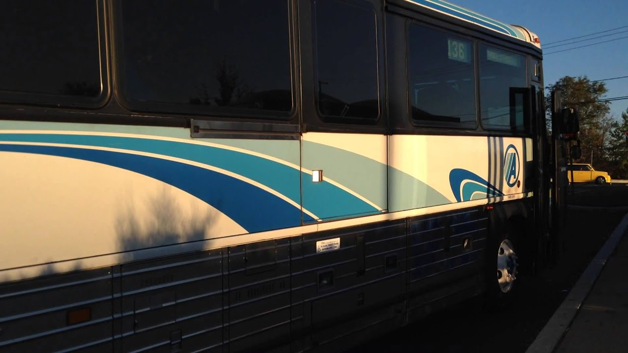 Academy Bus Mci D4500 8936 Lakewood Wall Street At