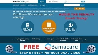How to Get Obamacare ( healthcare.gov enrollment instructions )