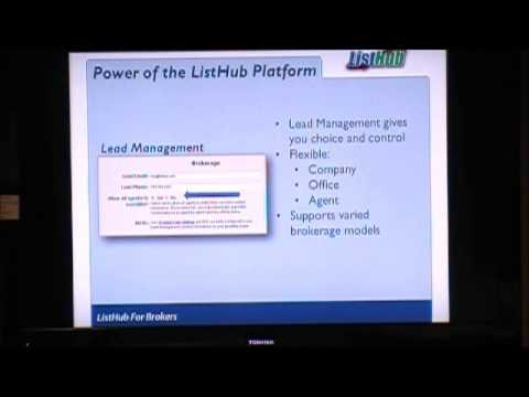 Listhub Training for Brokers 1 14 14