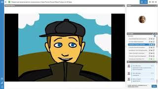 Письмо Юрию Гагарину из XXI века. Презентация работ детских анимационных студий.