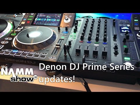 Namm 2018: Updates to the SC5000 Prime media player and X1800 mixer!