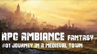 medieval fantasy rpg town peaceful