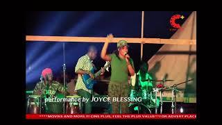 JOYCE BLESSING AT EASTERN REGION EASTER CELEBRATION