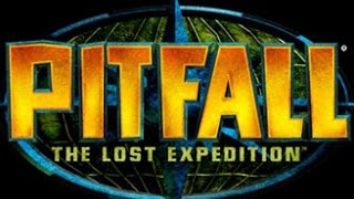 Pitfall : The Lost Expedition - Frozen cavern, Crystal cavern, Eyes of doom