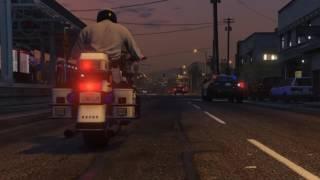 GTA V: Trooper Trevor assists LSPD