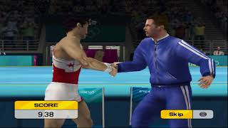 Athens 2004 Gymnastics Gameplay