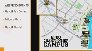 New Orleans prepares for LSU vs. Clemson College Football Championship