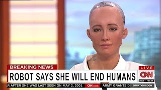 6 Scariest Things Said by A.I. Robots