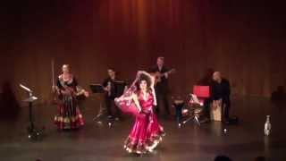 Nane Cokha Nane Gad with shawl(Live performance of Russian Gypsy dance to a popular Russian Gypsy song