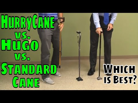 HurryCane vs. Hugo vs. Standard CaneWhich is BEST?