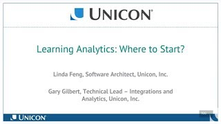 Learning Analytics: Where to Start?