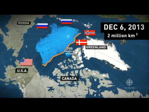 ► Canada and Russia jostle to claim territory and valuable r