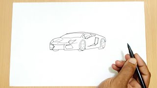 How to Draw a Lamborghini(Learn how to draw a Lamborghini car in this step by step drawing tutorial., 2015-11-01T11:41:34.000Z)