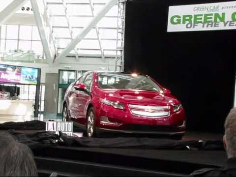 2011 Green Car of the Year - General Motors Chevy Volt