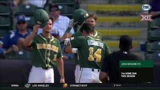 2018 Baseball Championship - Baylor vs Kansas Baseball Highlights, Game 7