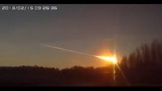 Crazy Meteor Caught on Russian Dashcam (RAW: 2014)