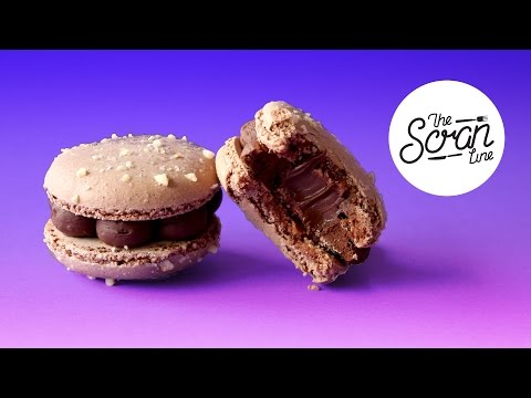 How to make chocolate ganache macaron filling