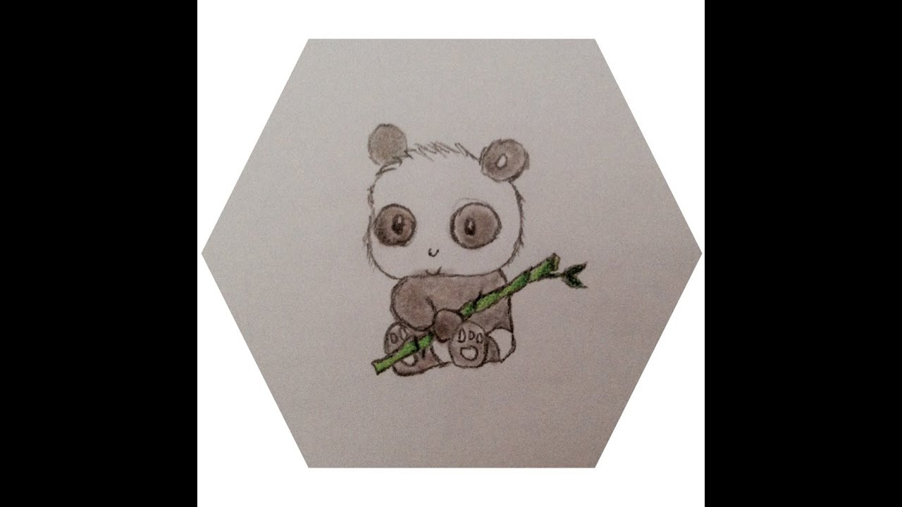 speed drawing bb panda - Dessin De Panda Mignon