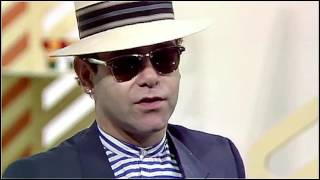 "Elton John - Interview on ""Blue Peter"" in 1983 (HD)"