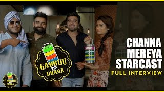Ninja, Amrit Maan & Payal Rajput (Channa Mereya Star Cast - Full Movie Interview) GABRUU.COM