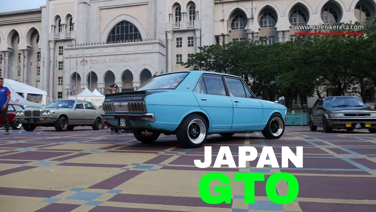 Mitsubishi Colt Galant Is Japan Gto Old School Car Modified