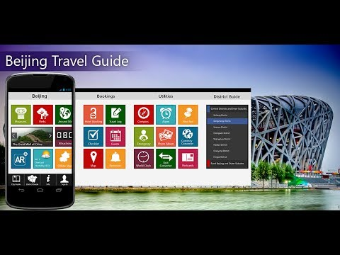 Beijing Travel Android App Promo - Pangea Guides