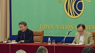 Norihiro Kato, literary critic 10月に出版された『戦後入門』(ちく...