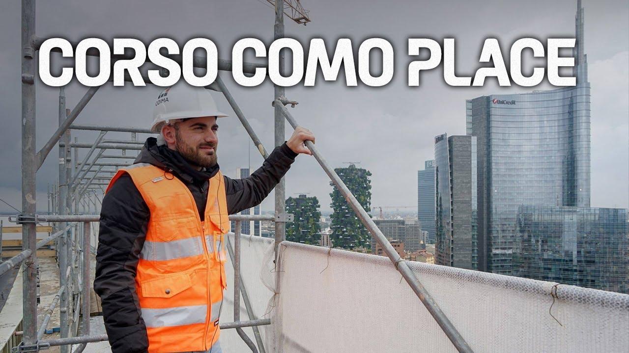 Corso Como Place: Visita al cantiere