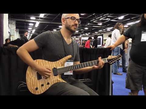 NAMM'14 - ViK Guitars - Nolly's new Duality 6 Sig!