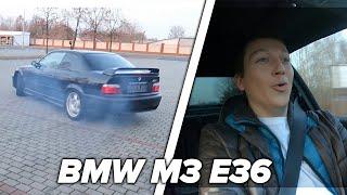 Bokiem po Warszawie w BMW M3 E36! ( 317hp )