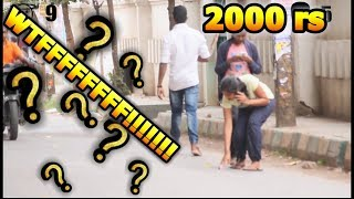DROPPING 2000 rs NOTE IN PUBLIC | SOCIAL EXPERIMENT
