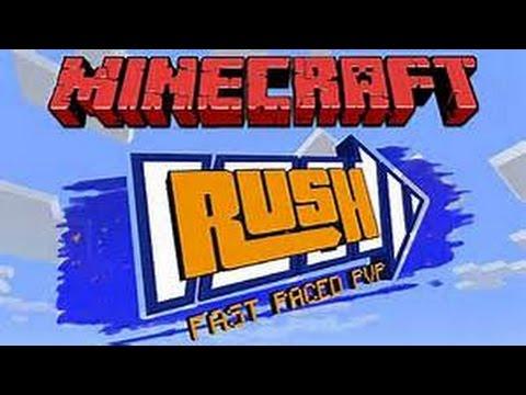 [Minecraft] Rush Sans Arc #1 : Des adversaire qui rage beaucoup.
