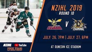 NZIHL 2019 | Round 10: Botany Swarm v Dunedin Thunder  - July 26