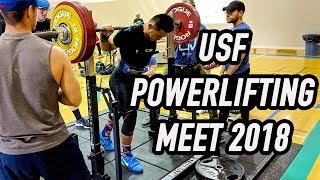 LOSS 6 LBS IN 4 HOURS! - USF Powerlifting Meet 2018 - Vlog 6