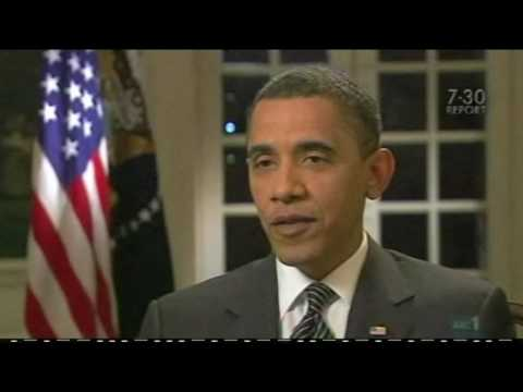 Apple Uses Morse Code Flashing Lights in Obama Interview - BUY IPAD
