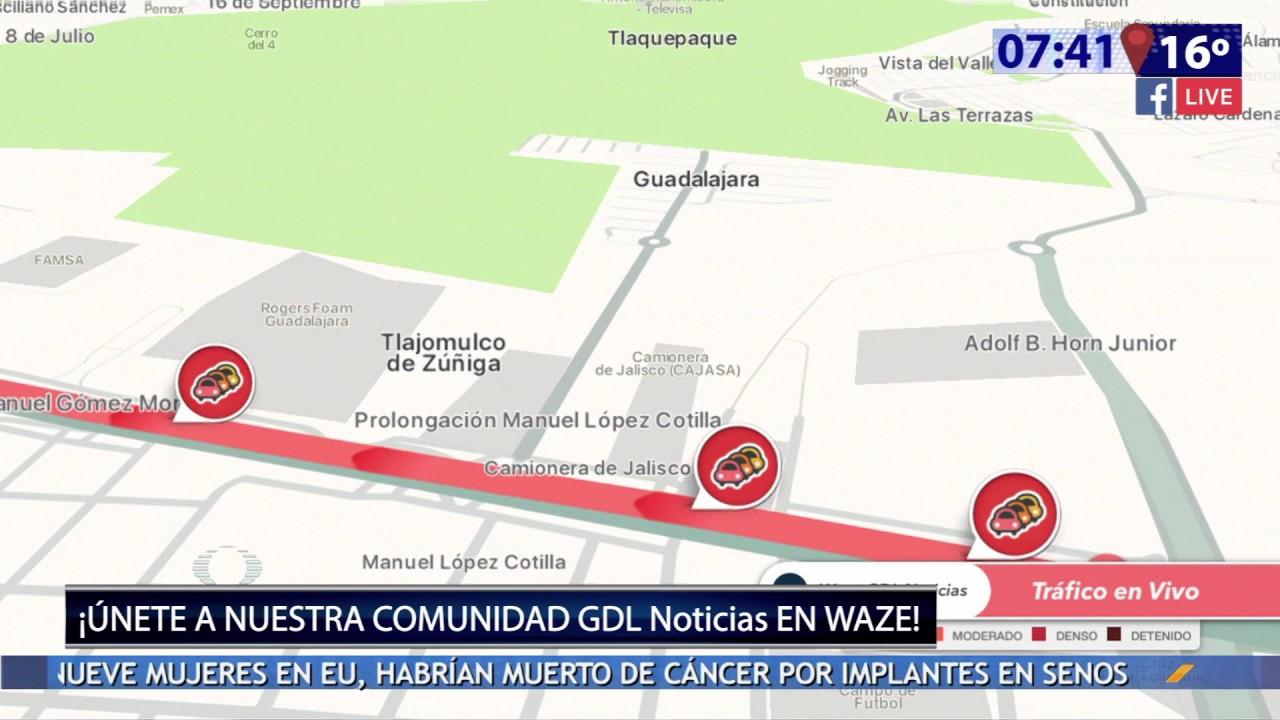 Televisa Guadalajara Using W On Air