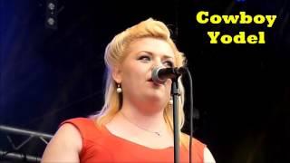 Emmy Lou & The Rhythm Boys - Cowboy Yodel - (Wanda Jackson Style)-Béthune Rétro 2015