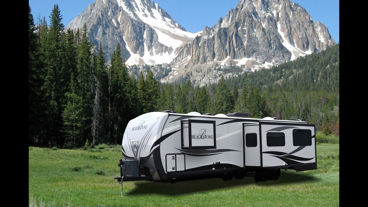 NEW 2016 Blackstone Luxury Travel Trailers