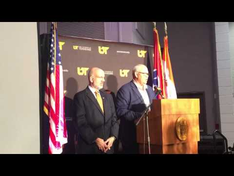 Phillip Fulmer talks about becoming the Vols