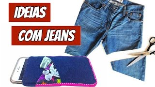 Ideias ÚTEIS para Fazer com Jeans