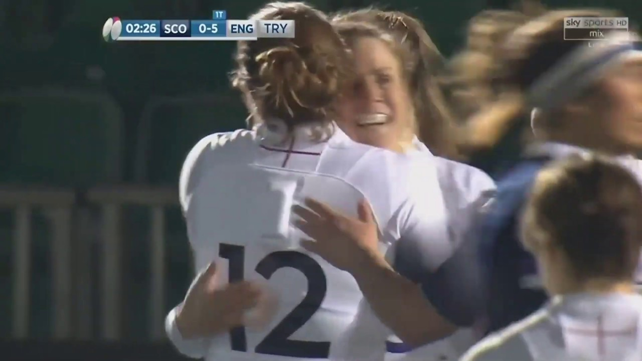 Replay | Red Roses v Scotland 2018